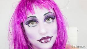 transform into a monster high student for using this makeup tutorial