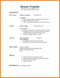 College Student Resume Examples No Experience Basic Resume Template For First Job Part Time Sample Fastweb
