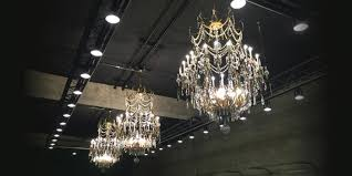 the 1910s era chandeliers over the interim fitness space are a true chicago historical treasure