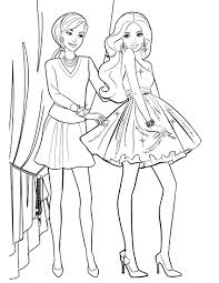Small Picture Barbie Printable Coloring Pages Captivating brmcdigitaldownloadscom