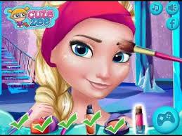 frozen prom makeup design game for frozen games