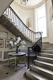 ZsaZsa Bellagio: At Home & Elegant Entry foyer and stairs. French English  country traditional Like the style for store