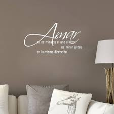 Amar Love Wall Decal Stickers Quotes Home Rule Spanish Language Art Unique Love Wall Quotes
