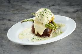 filet steak prepared oscar style
