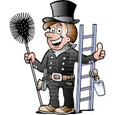 Chimney Sweeper Chimney Sweeper With Cleaning Tools