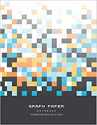 Amazon Com Graph Paper Notebook 1 8 Inch Squares Blank Graphing