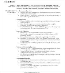 13 Luxury Police Officer Resume Samples Images Telferscotresources Com