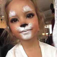 cute bunny makeup for kids