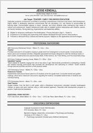 Updated Resume Formats Cool Free Teacher Resume Templates Download Elegant Most Updated Resume