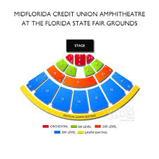 Midflorida Amphitheatre Seating Chart Images Mid Florida Credit Union Amphitheater Seating Chart