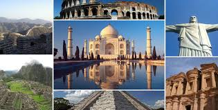 seven wonders of world in urdu