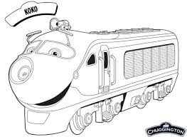 Small Picture Koko Chuggington Coloring Pages Cartoon Coloring pages of