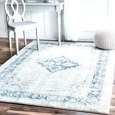 blue area rugs 9 12 rug silver