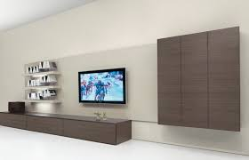 wall mounted tv cabinet for flat