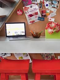 floating shelf workstation