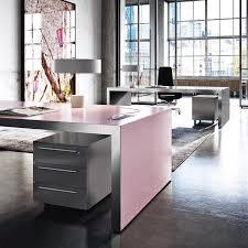 pink office desk. Sinetica Vogue Executive Pink Office Desk O