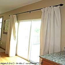 sliding patio door ds glass door curtains sliding glass door dry rods sheer curtains sliding door
