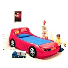 race car bed red white little for kidkraft racecar toddler bedroom kids ideas unique cars bedro