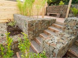 Small Picture 127 best Gabions images on Pinterest Gabion wall Gabion fence