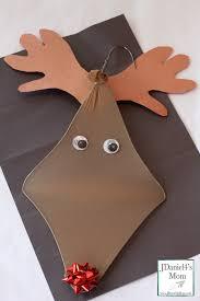 Christmas Craft For Kids Christmas Crafts For Kids Hanger Reindeer