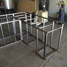 modular outdoor kitchen bbq island frame kit kits cabinets diy how
