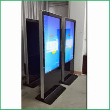 Free Standing Display Board 100inch free standing led advertising digital display board with 16