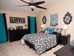 Black And White And Blue Bedroom Ideas