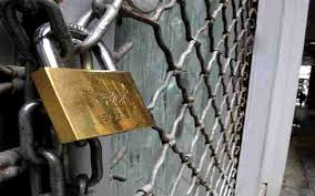 Image result for restaurant closed with a lock image