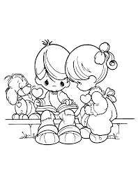 Drawing Precious Moments Coloring Pages 86 For Free Coloring Book