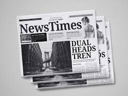 Custom Newspaper Template 30 Professional Indesign Newspaper Templates