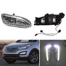 2013 Santa Fe Fog Light Replacement Cover Lh Rh For Hyundai 2010 2012 Santa Fe Style Parts
