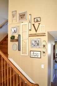 Hallway Wall Ideas Best 20 Staircase Wall Decor Ideas On Pinterest Stair Wall