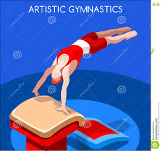 vault gymnastics silhouette. Interesting Silhouette Download Artistic Gymnastics Vault Olympic Icon Set3D Isometric GymnastSporting  Championship International Competition On Silhouette