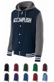 Holloway Accomplish Varsity Fleece Jackets