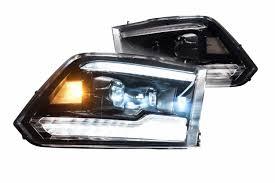 2007 Dodge Ram 2500 Fog Light Bulb Size 2009 2018 Dodge Ram Xb Led Projector Headlights Complete