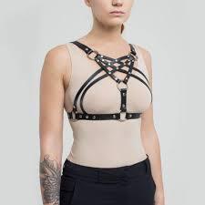 full women harness female harness women underwear leather harness handmade accessory ual harness