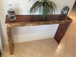 hall table furniture. Blackwood Slab Hall Table Furniture