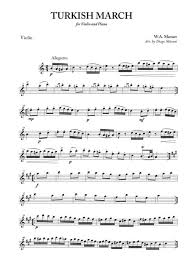 11 by the austrian composer, wolfgang amadeus mozart. Turkish March For Violin And Piano Sheet Music Pdf Download Sheetmusicdbs Com