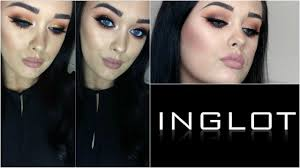 inglot what a e eyeshadow tutorial