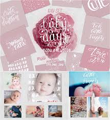 Baby Newborn Photo Overlays Set Free Download