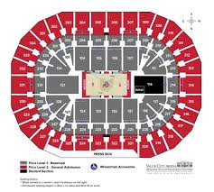 Neal S Blaisdell Arena Seating Chart 56 Faithful Osu Schottenstein Arena Seating Chart