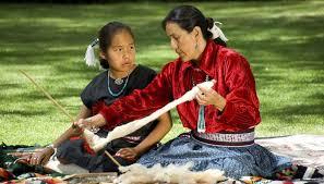 how to hang navajo rugs