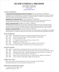 Pilot Resume Template - 5+ Free Word, PDF Document Downloads .