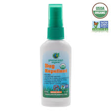 deet travel size greenerways usda organic natural insect repellent 2oz travel size