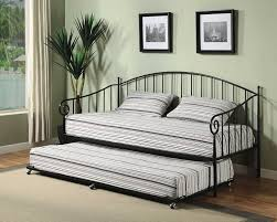 daybed with trundle. Amazon.com: Kings Brand Furniture Matt Black Metal Twin Size Day Bed (Daybed) Frame With Trundle: Kitchen \u0026 Dining Daybed Trundle