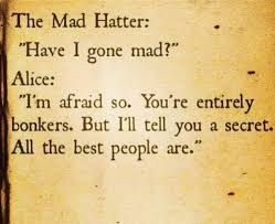 Mad Hatter Quotes Extraordinary Alice In Wonderland Quote Between Alice And The Mad Hatter Awesome