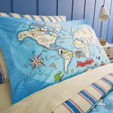 sanderson little sanderson treasure map duvet cover set single amara