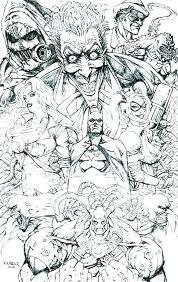 Batman Villains Coloring Pages Neycoloringsmart