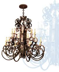 classic and gothic wrought iron chandeliers superhomeplan intended for amazing home large wrought iron chandelier plan