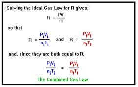 Ch 105 Lesson 1 Ideal Gas Law